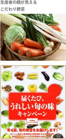 生産者の顔が見えるこだわり野菜